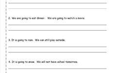 Letter Writing Worksheets For Grade 3