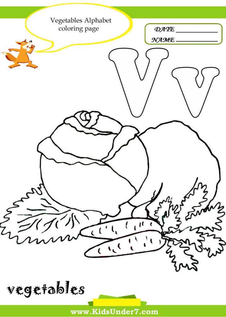 Kids Under 7: Letter V Worksheets And Coloring Pages Intended For Letter V Worksheets For Toddlers