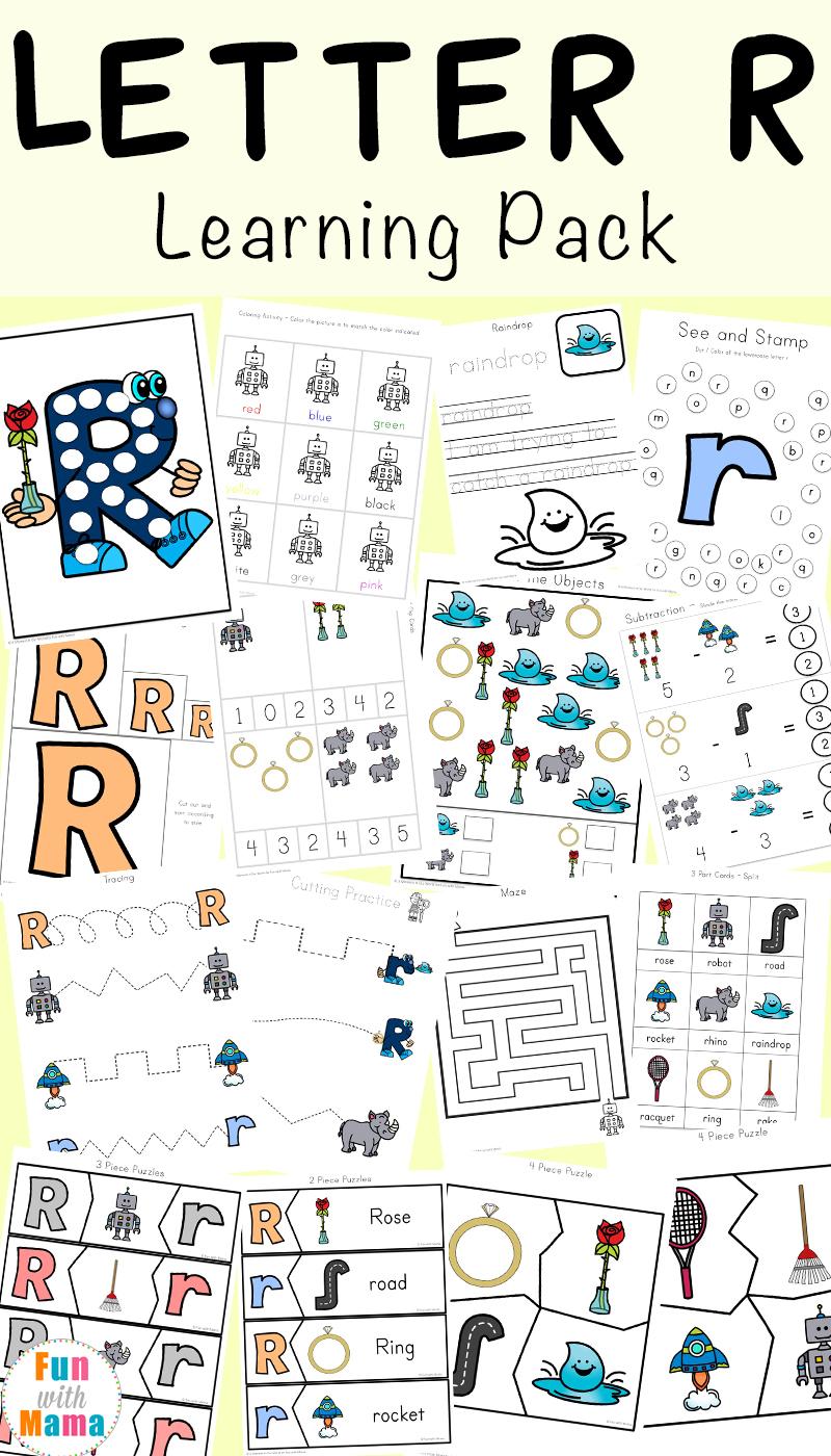 Kids Worksheets Free Printable For Pre K Students Letter R with regard to Letter R Worksheets Pre K