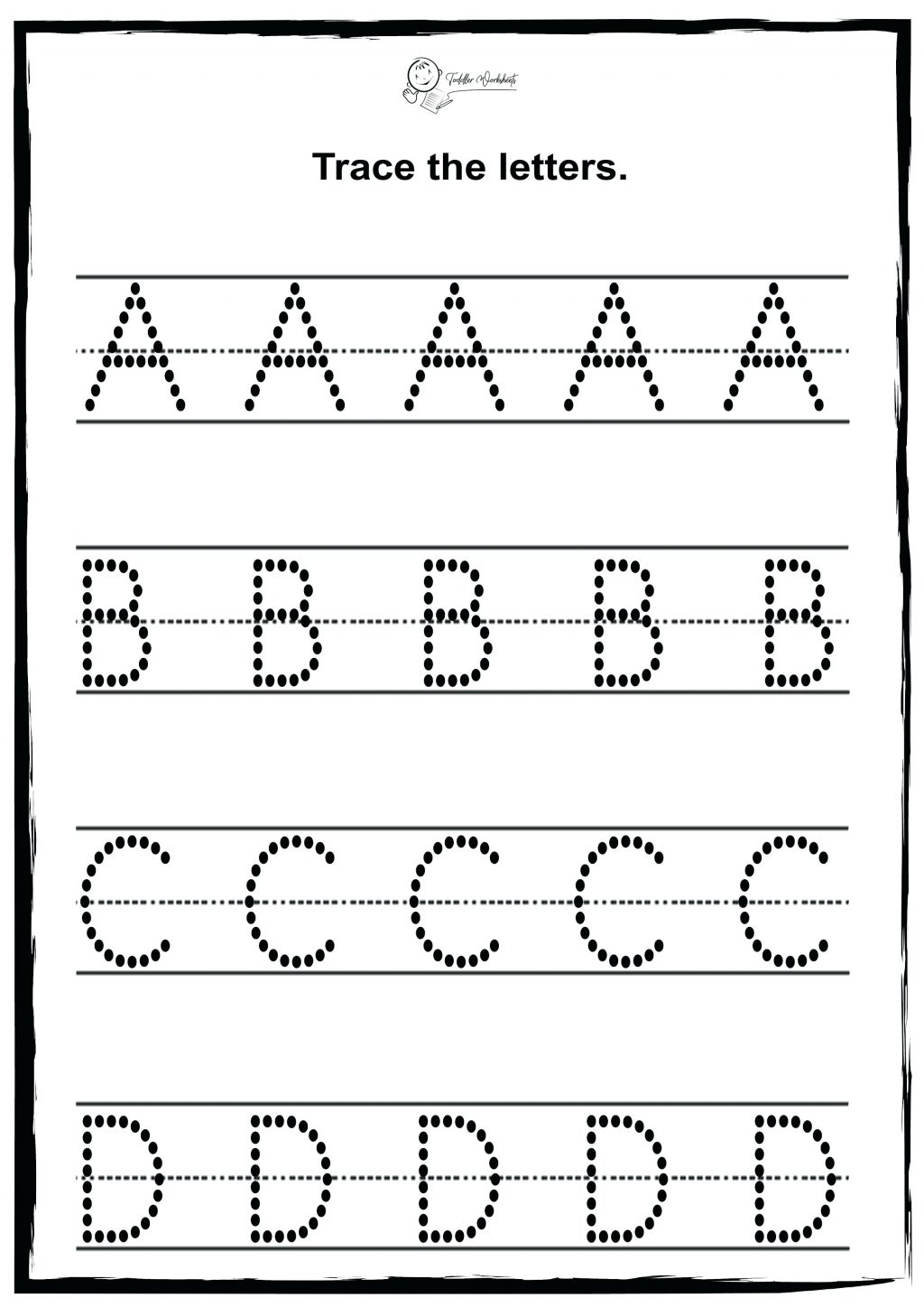 Kids Worksheets Letters Lkg Worksheet For Students English regarding Alphabet Worksheets For Ukg
