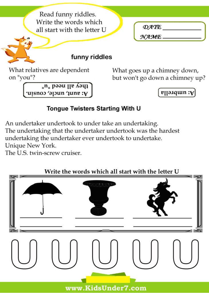 Kindergarten Short Vowel Sounds Activity Pages. Identify The For Letter V Worksheets Sparklebox