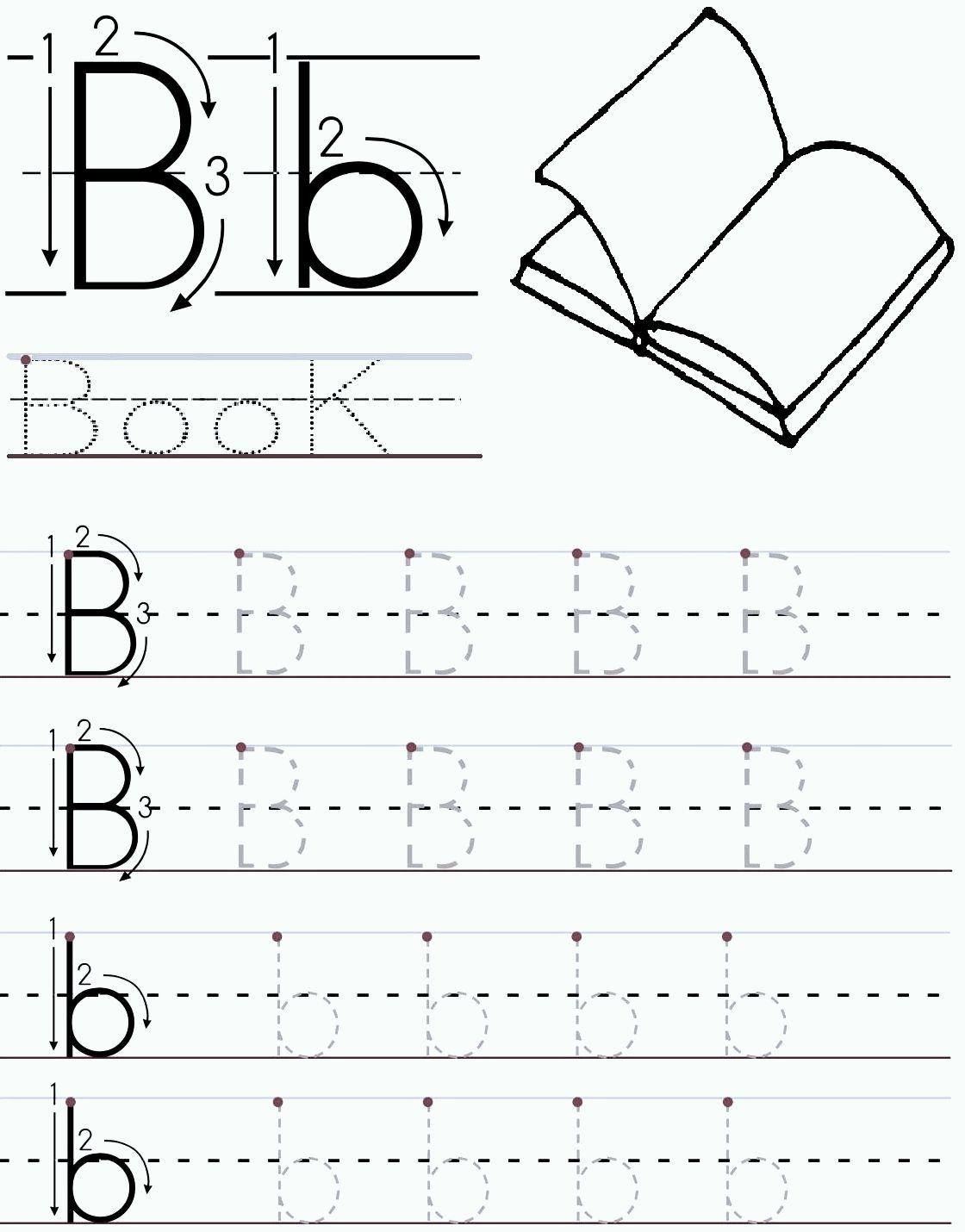 Learning To Print Worksheet Preschool | Printable Worksheets inside Letter B Worksheets Printable