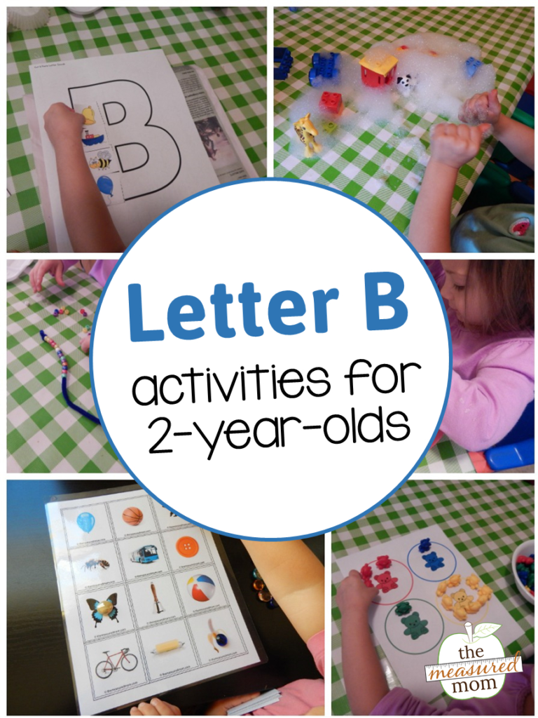Letter B Activities For 2 Year Olds   The Measured Mom Pertaining To Letter B Worksheets For 2 Year Olds