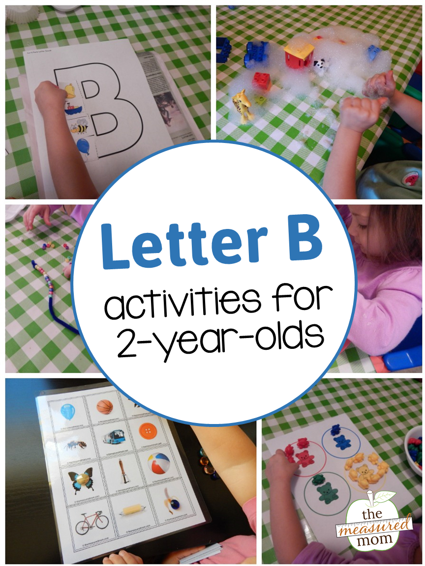 Letter B Activities For 2-Year-Olds - The Measured Mom pertaining to Letter B Worksheets For 2 Year Olds