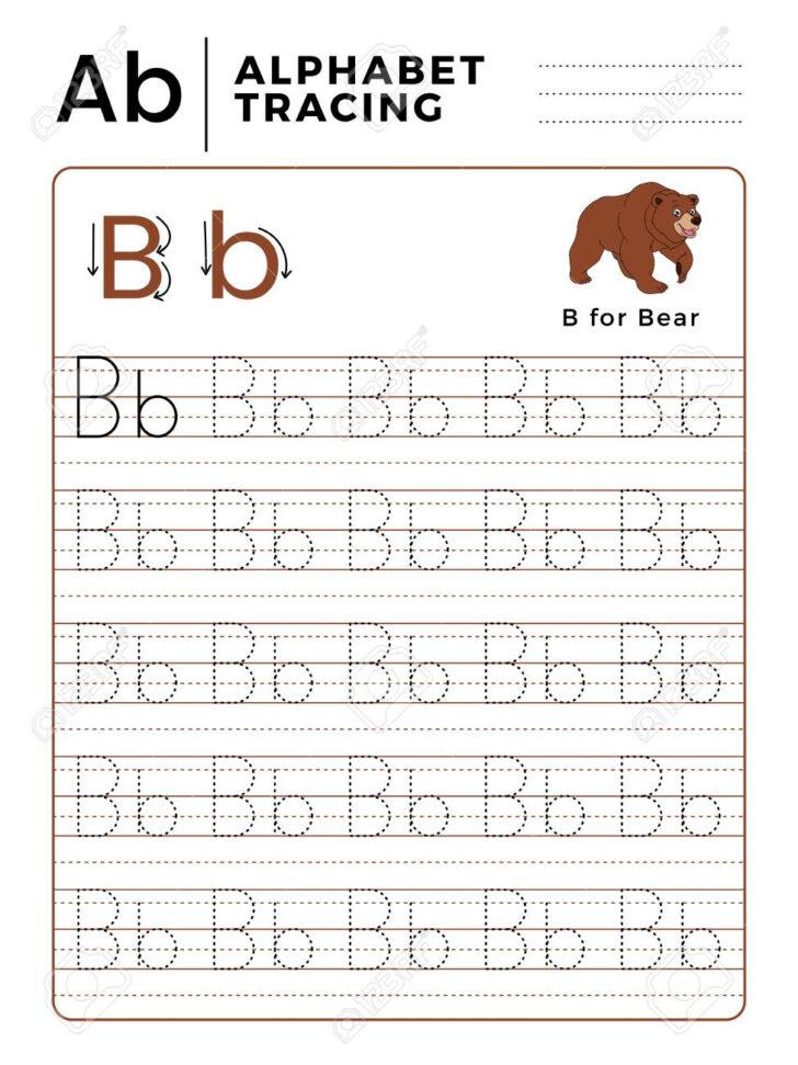 Alphabet Tracing Worksheets B