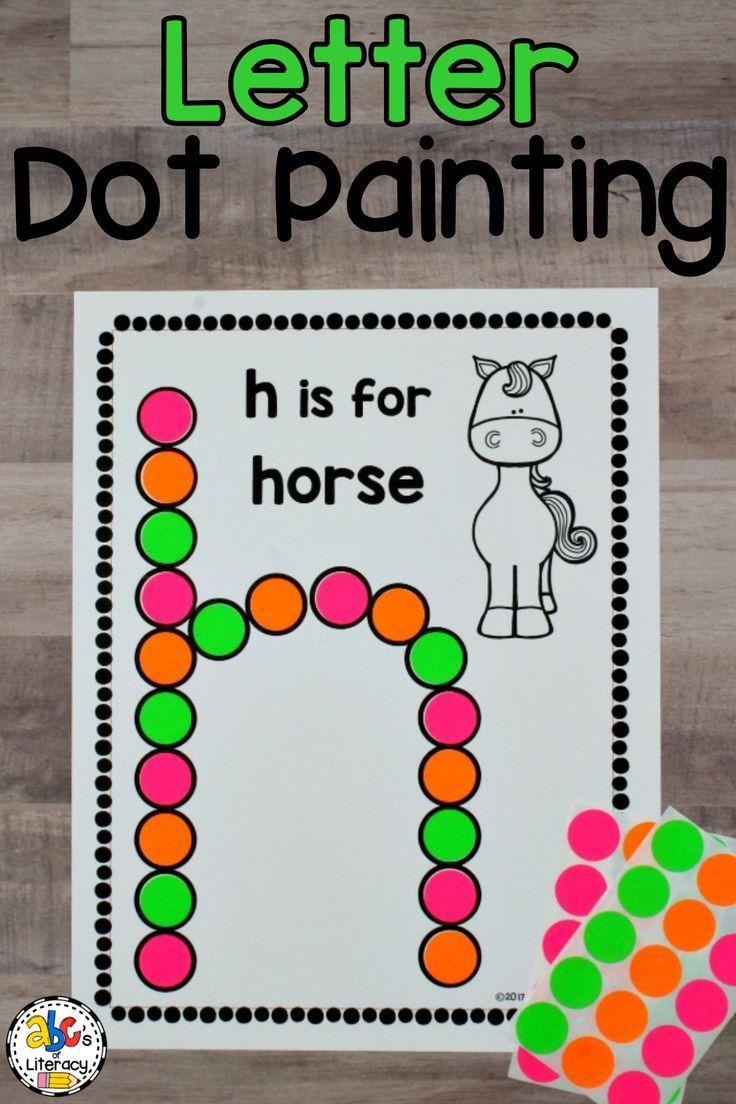 Letter Dot Painting Worksheets (Bingo Dauber Activity) | Dot within Alphabet Dauber Worksheets