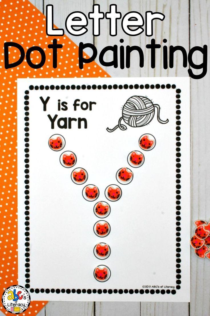 Letter Dot Painting Worksheets (Bingo Dauber Activity pertaining to Alphabet Dauber Worksheets