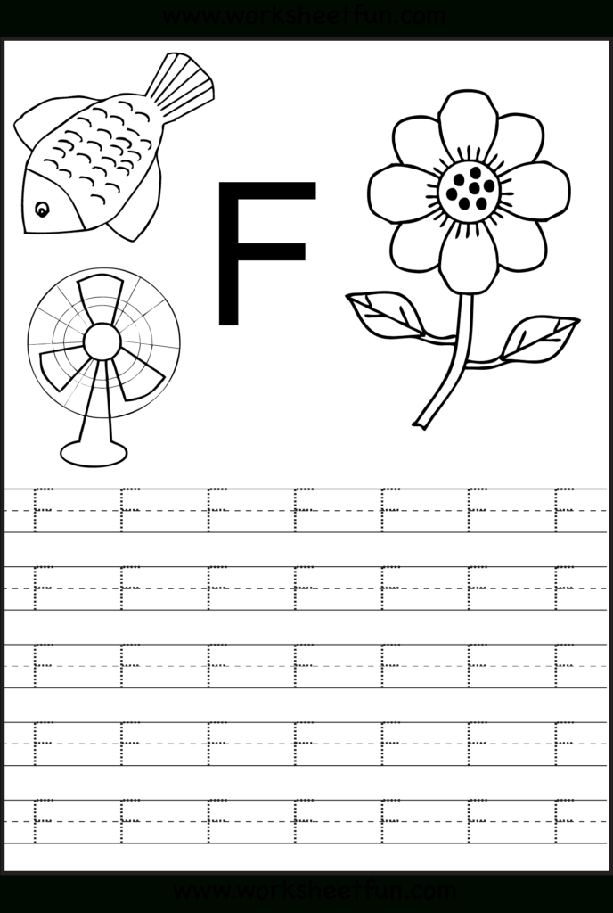 Letter F Worksheets | H3Dwallpapers   High Definition Free Within F Letter Worksheets Preschool
