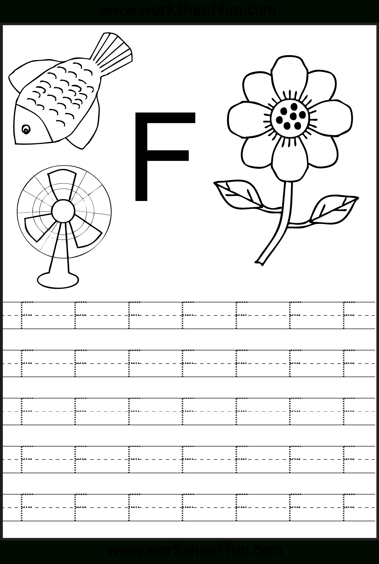 Letter F Worksheets | H3Dwallpapers - High Definition Free within F Letter Worksheets Preschool