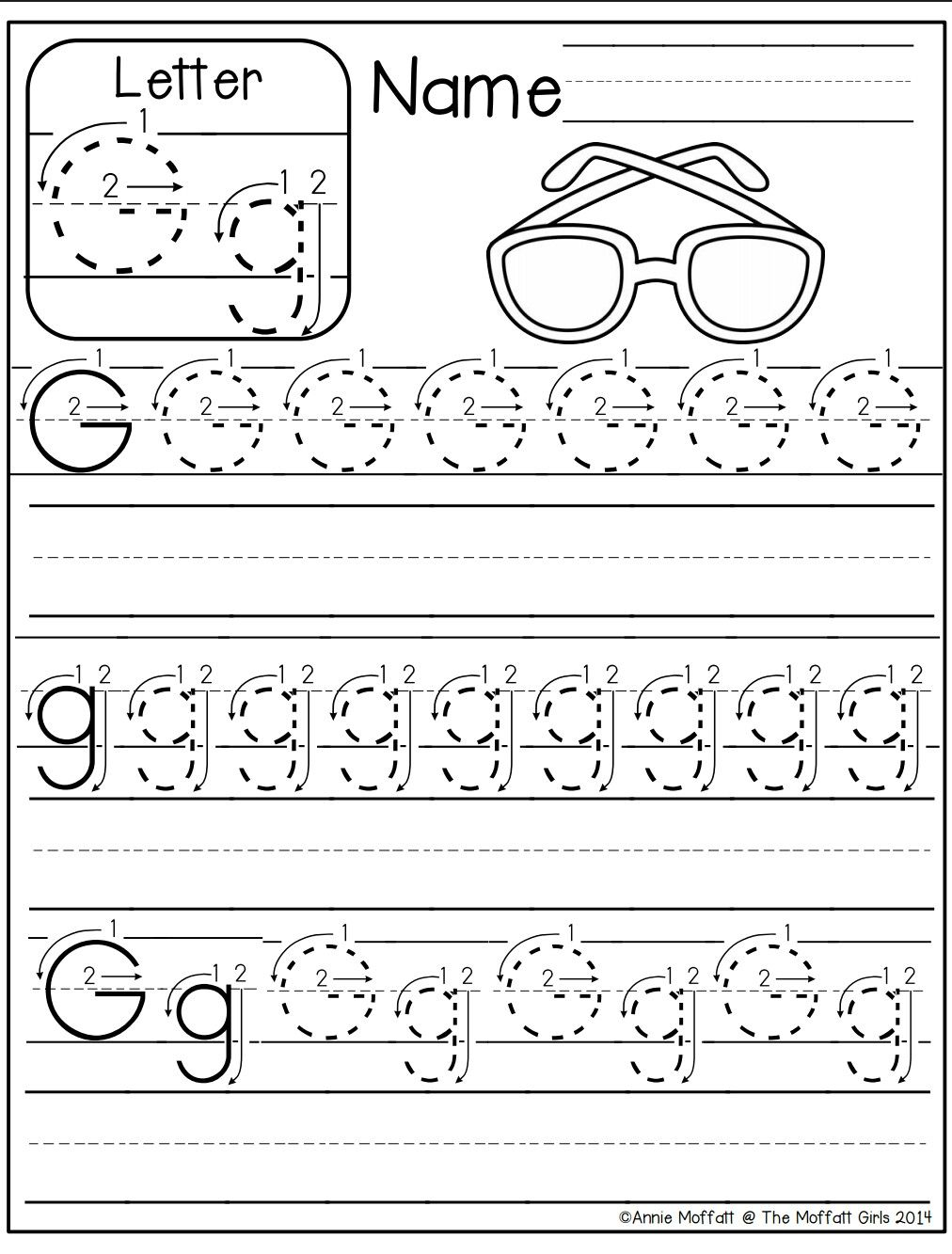 Letter G Worksheet | Preschool Writing, Letter G Worksheets regarding Letter G Worksheets For Toddlers