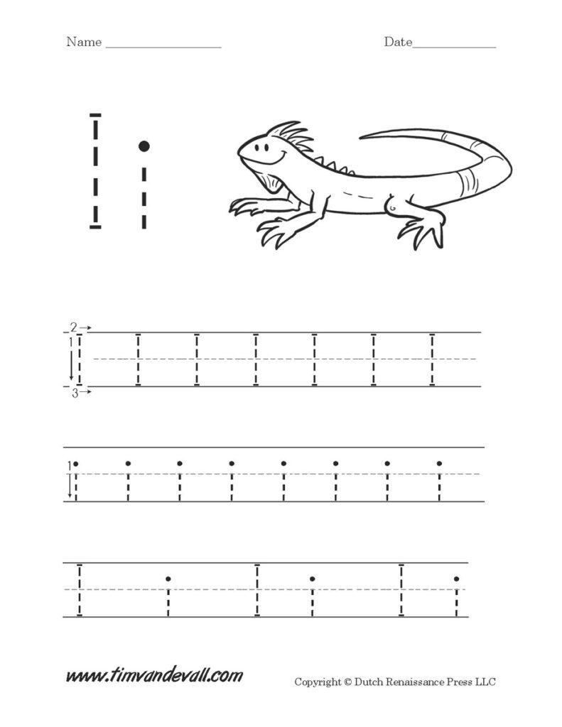 Letter I Worksheets | Preschool Alphabet Printables Inside Letter I Worksheets