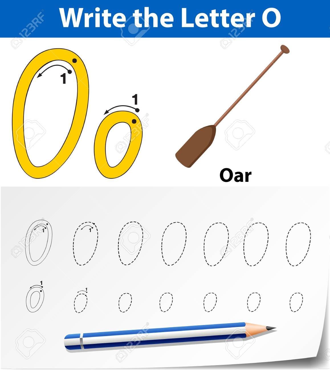 Letter O Tracing Alphabet Worksheets Illustration throughout Letter 0 Worksheets