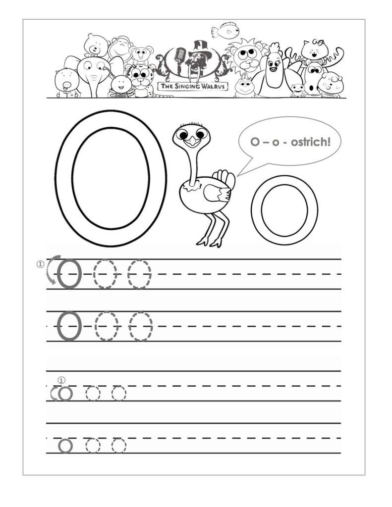 Letter O Worksheets For Preschool | Activity Shelter In Letter O Worksheets Free Printable