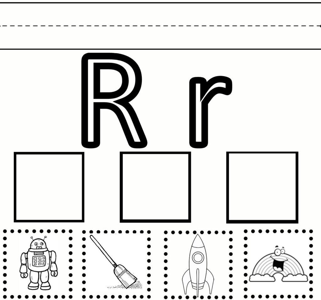 Letter R Preschool Worksheets | Preschool Learning – Letter Within Letter R Worksheets Preschool Free