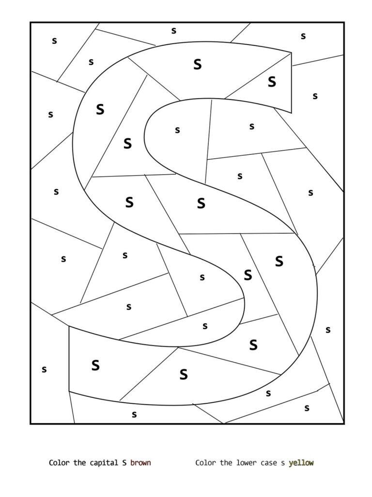 Letter S Worksheets Printable | Printable Shelter Regarding Letter S Worksheets Printable