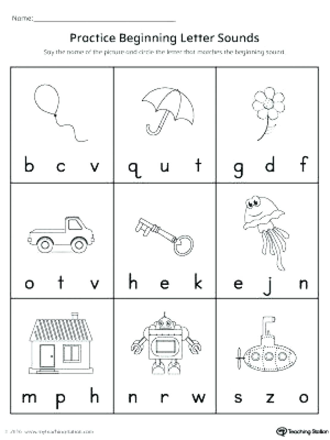 Letter Sound Worksheets For Free Download. Letter Sound for Letter 2 Worksheets