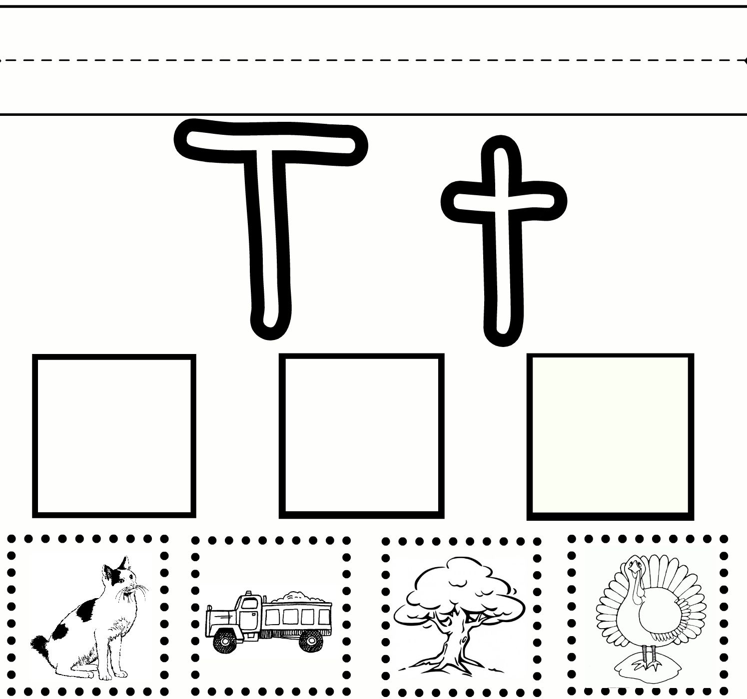 Letter T Worksheets | Letter T Worksheets, Letter T inside T Letter Worksheets