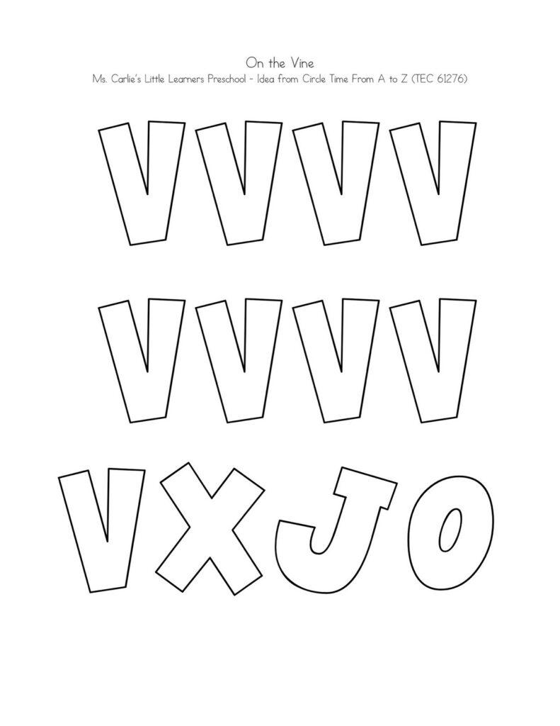 Letter V Worksheets To Print | Activity Shelter In Letter V Worksheets Sparklebox