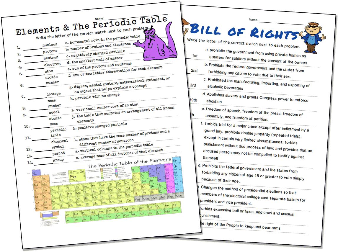 Match-Up Worksheet Maker with Alphabet Match Up Worksheets