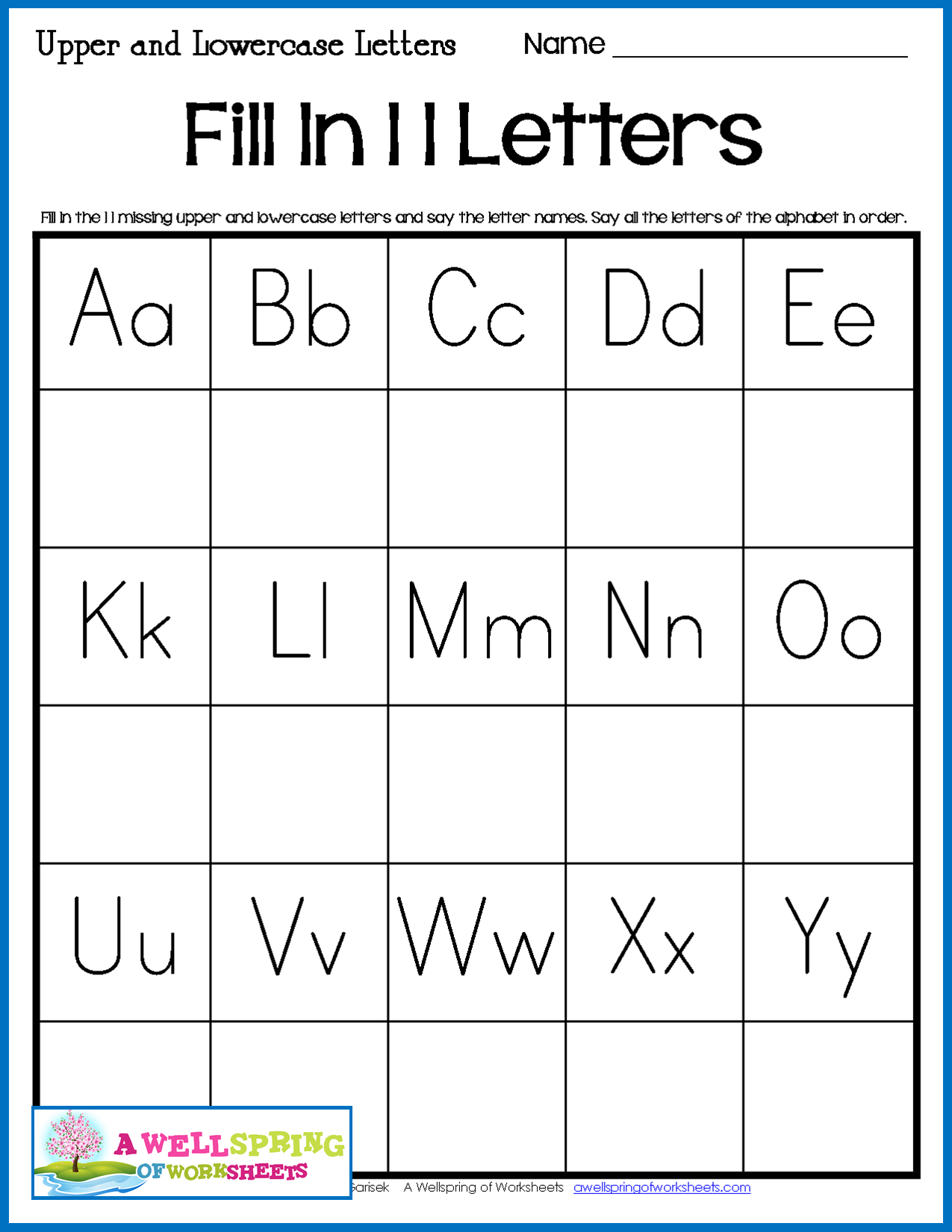 Missing Letters Worksheets | Letter Worksheets, Missing with Alphabet Worksheets With Missing Letters