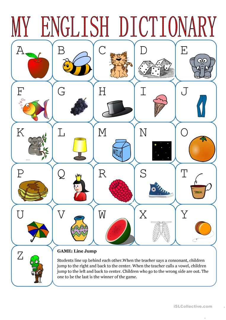 My English Alphabet - English Esl Worksheets for The Alphabet Worksheets Esl
