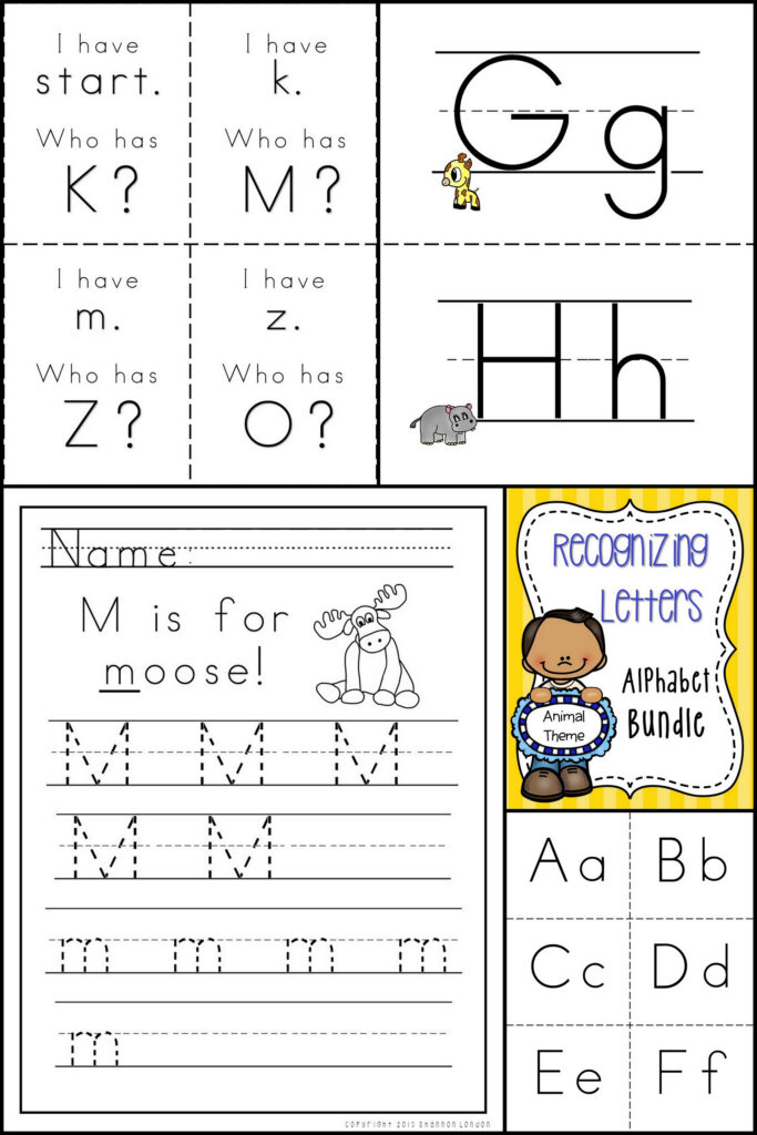 Now I Know My Abc's   Alphabet Handwriting, Flashcards, And For Alphabet Worksheets For Special Needs