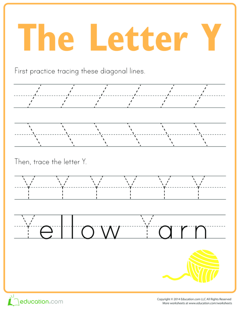 Pinhanan Badawi On Graphics   Printable Preschool Intended For Letter Y Worksheets Easy Peasy