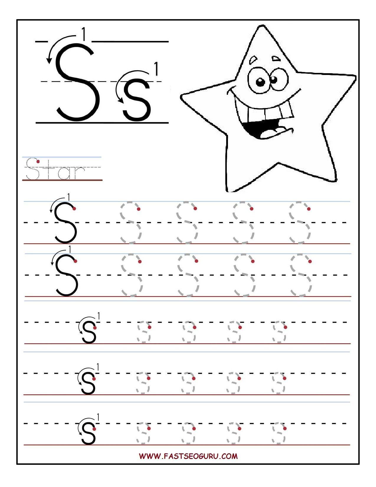 Pinkatie Mueller On Growing Place | Preschool Worksheets inside Letter S Worksheets