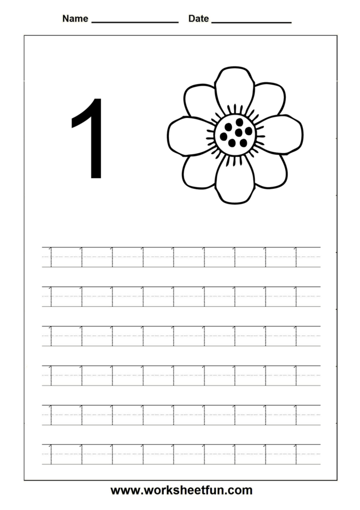 Pinsilvanne Buhagiar On Projects To Try | Kindergarten With Letter 1 Worksheets