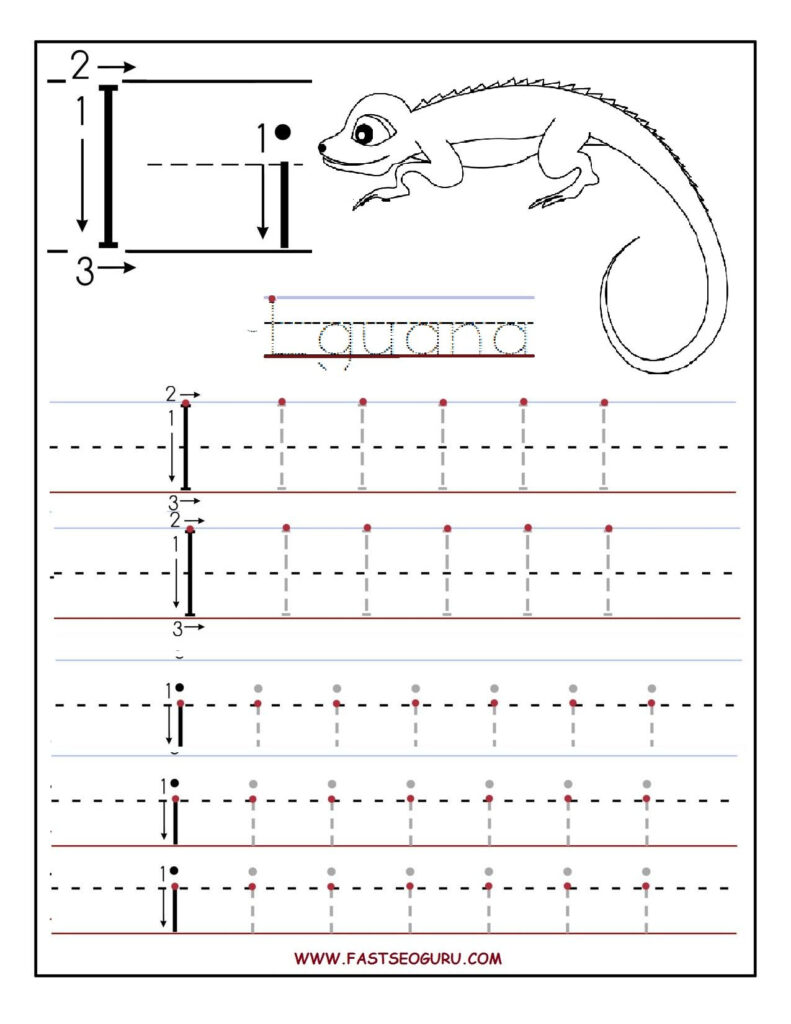 Pinvilfran Gason On Decor | Printable Preschool With Letter I Worksheets
