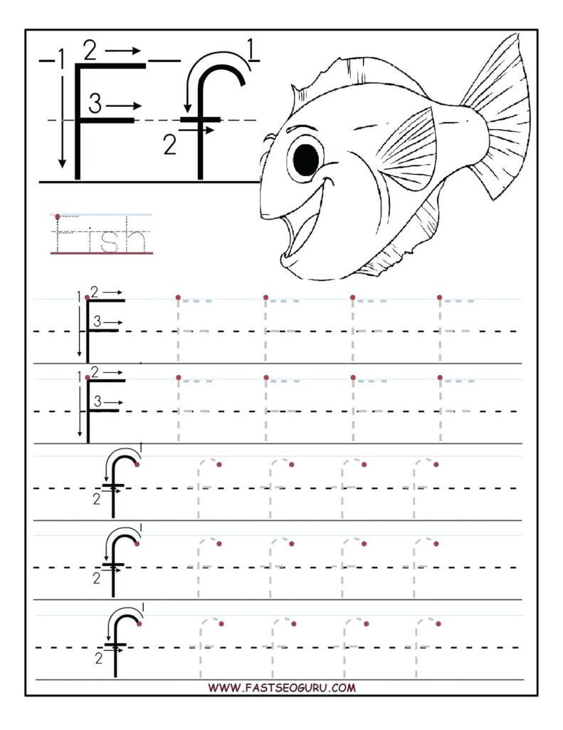 Pre K Pattern Worksheets – Shoppage.co For Letter F Worksheets For Grade 1