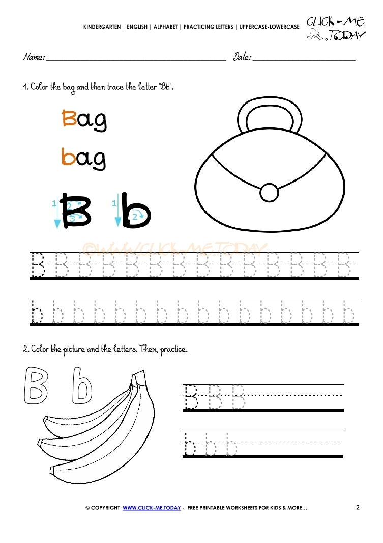 Pre Writing Worksheets For Year Olds Free Printable pertaining to Letter B Worksheets For 2 Year Olds