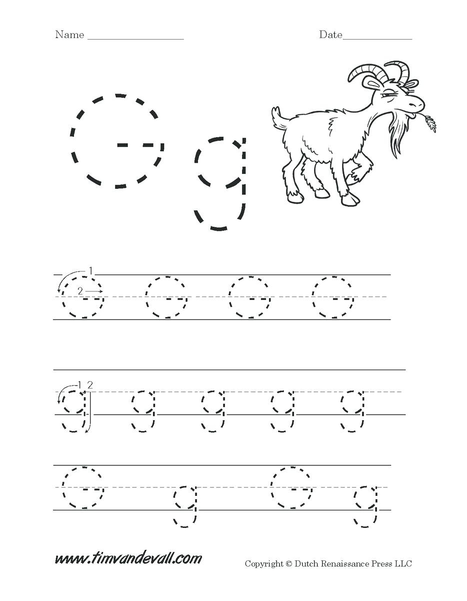 Preschool Coloring Pages Letter G – Giftedpaper.co in Letter G Worksheets For Toddlers