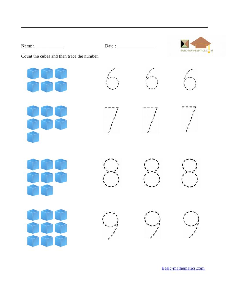 Preschool Matching Worksheets Kids Free Math Numbers Ghost Inside Alphabet Math Worksheets Preschool