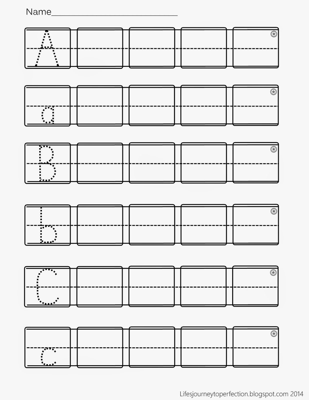 Preschool Practice Abc Writing Worksheet Printables | Abc pertaining to Alphabet Worksheets For Ukg