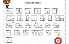 Alphabet I Worksheets For Kindergarten