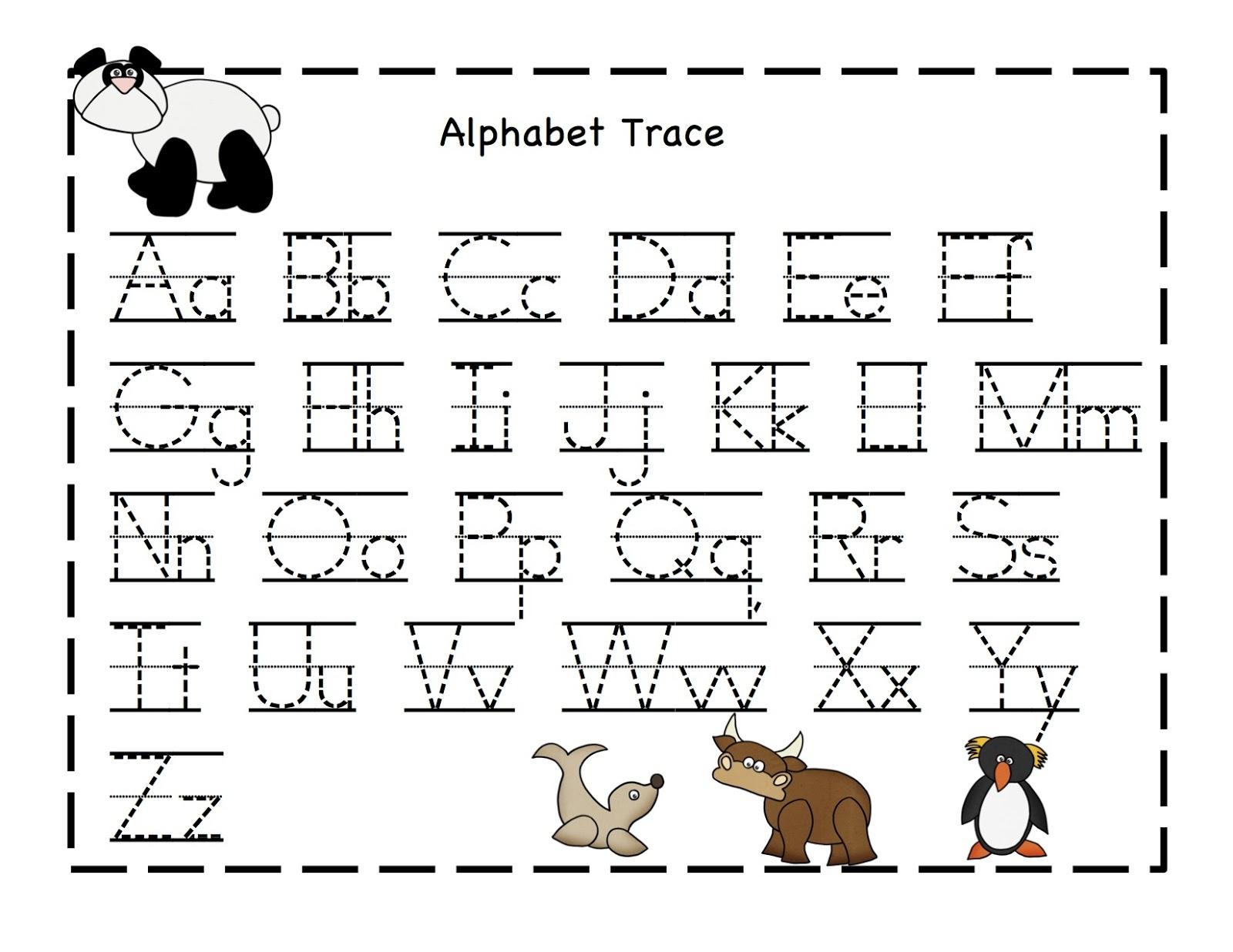 Printable Worksheets For Kindergarten On Alphabet Homework intended for Alphabet Homework Worksheets