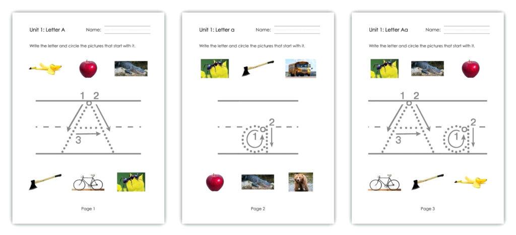 Reading Az Worksheets – Goodwincolor.co Regarding Reading A Z Alphabet Worksheets