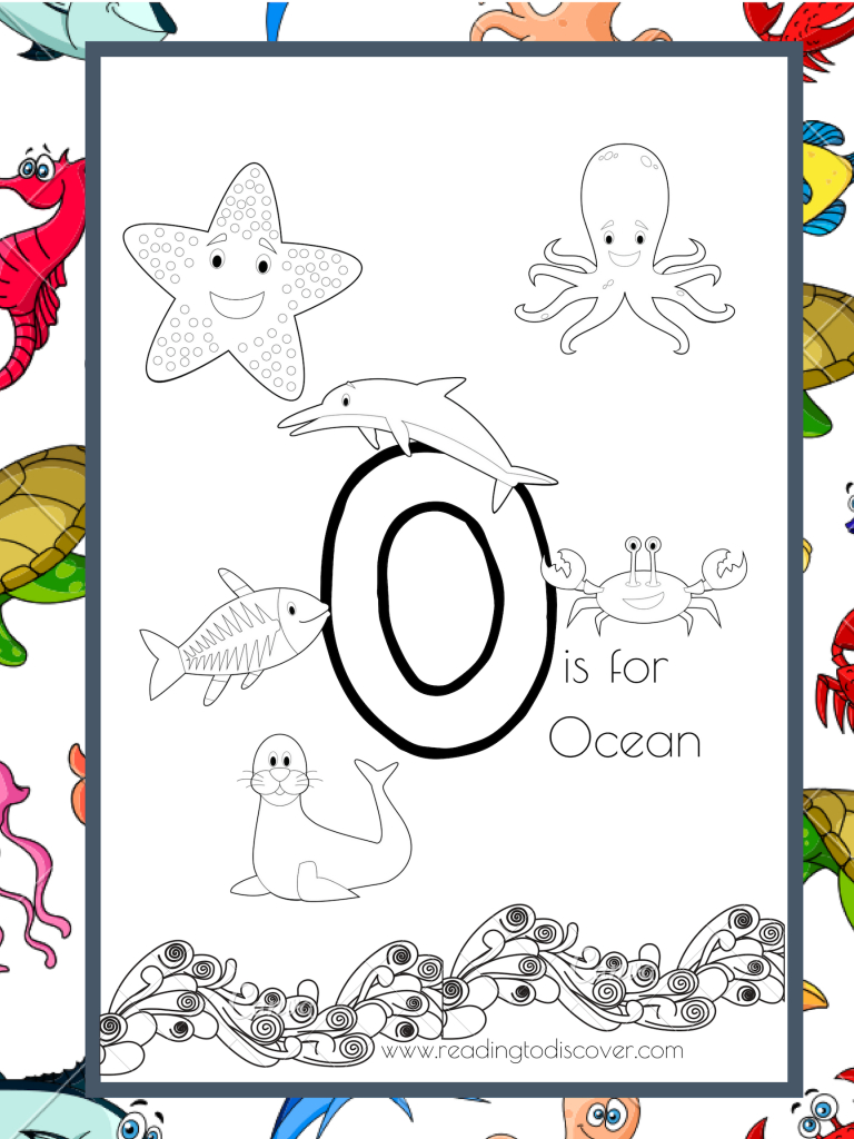 Reading To Discover | Fun, Engaging, Simple Preschool with Letter O Worksheets For Toddlers
