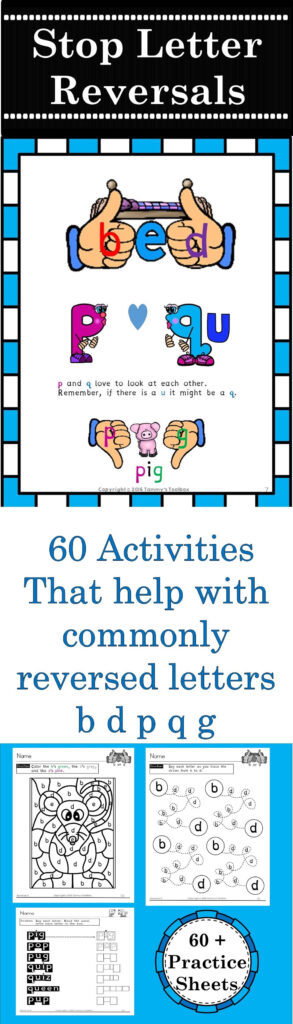 Reverse It   Over 60 Printable Activities To Help Students Inside Alphabet Worksheets For Dyslexia