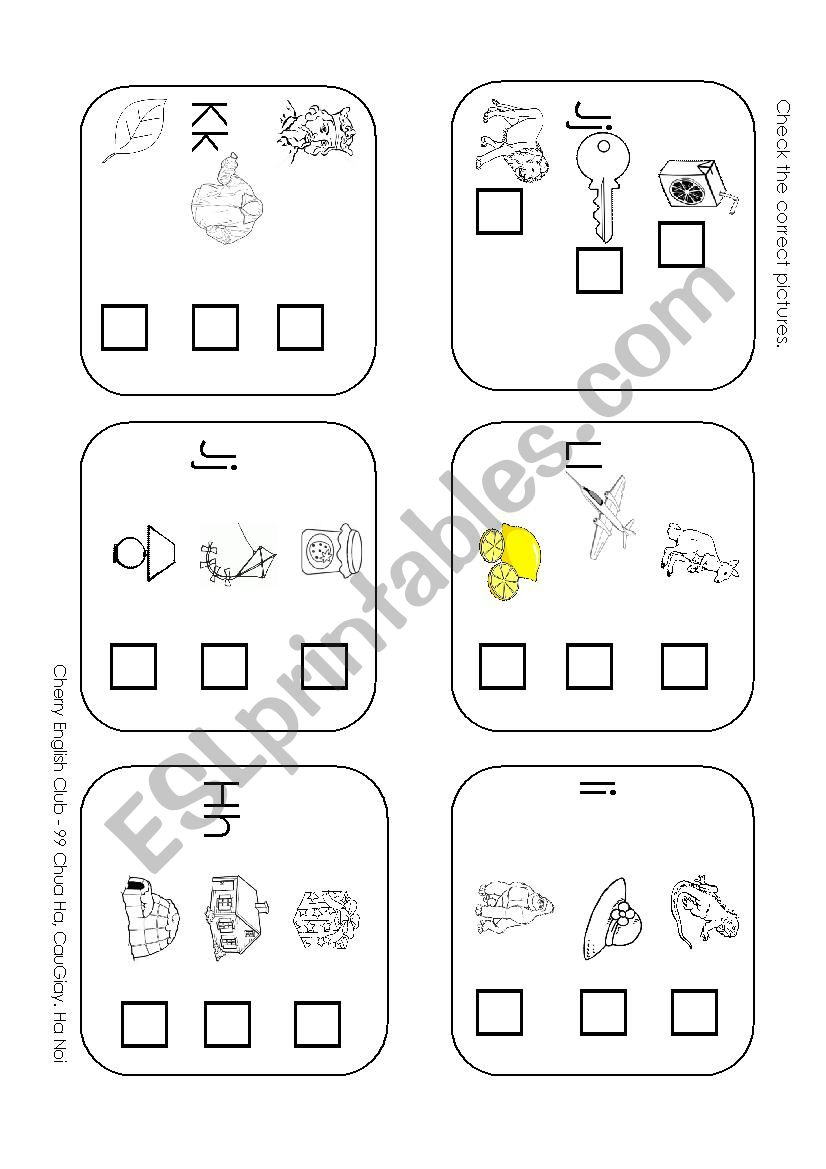 Review Letter A-L - Esl Worksheetphuongtruong in Letter Worksheets Review