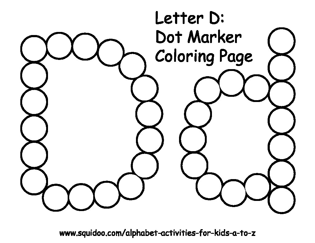 The Best Free Bingo Coloring Page Images. Download From 191 intended for Alphabet Dauber Worksheets