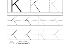 Letter K Worksheets For Preschool