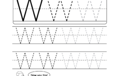 Letter W Worksheets For Preschool
