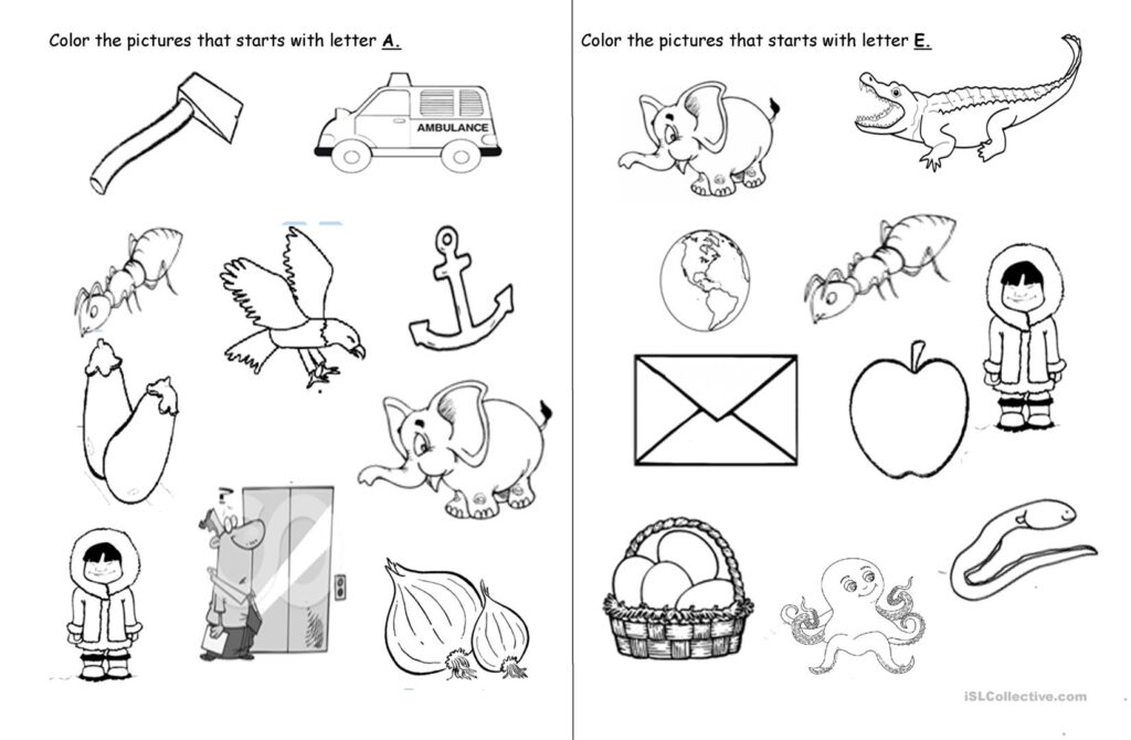 Vowel Letters   English Esl Worksheets Intended For Vowel Alphabet Worksheets