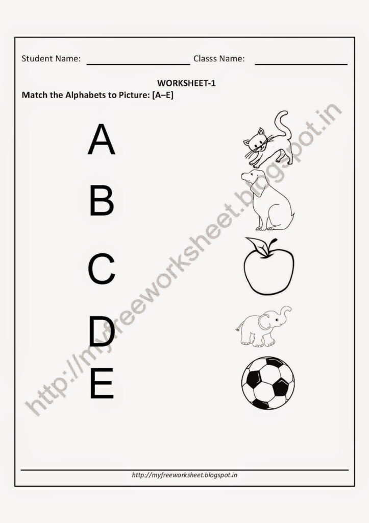 Worksheet Free English Worksheets For Kindergarten Printable Throughout Letter T Worksheets For Kindergarten Pdf
