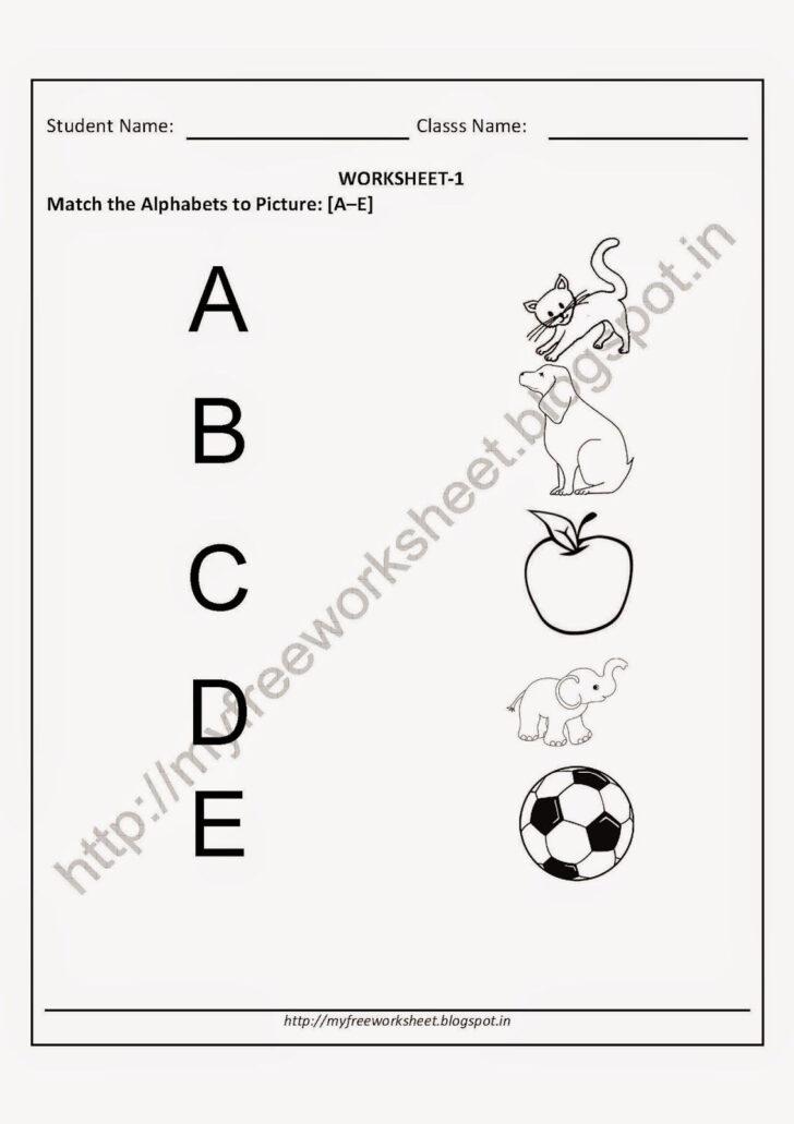Letter T Worksheets For Kindergarten Pdf