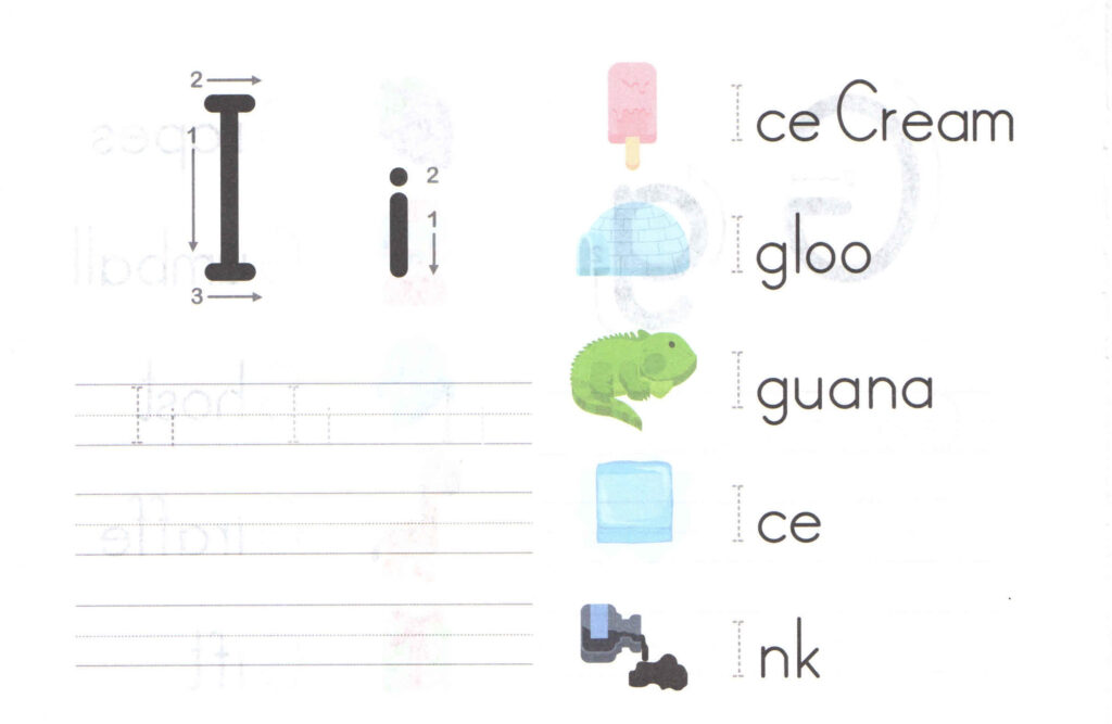 Worksheets For Each Sound In The Alphabet Free Also Mini For Letter Ii Worksheets For Kindergarten