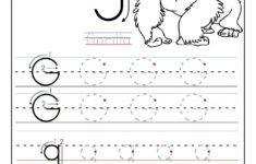 Alphabet G Worksheets