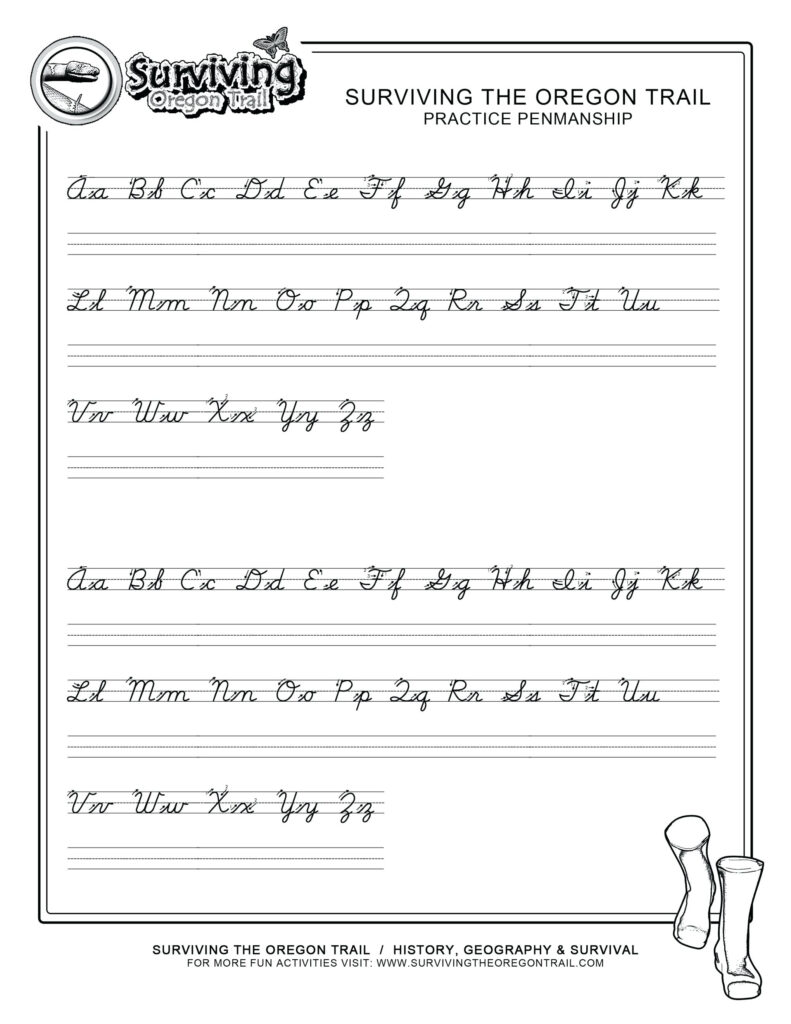 Write The Alphabet Worksheet – Pointeuniform.club Inside The Alphabet Worksheets Pdf